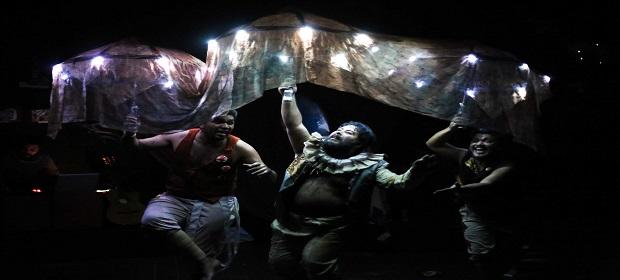 Grupos da Bélgica e Espanha participam de festival de teatro em Irecê.