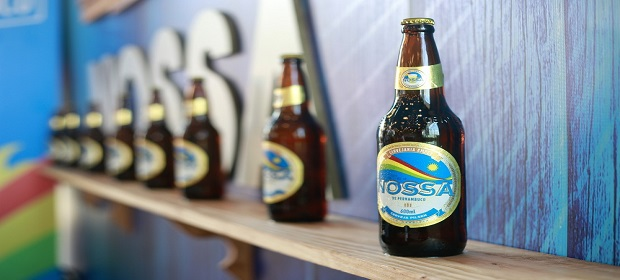 Ambev lança NOSSA, cerveja genuinamente pernambucana.
