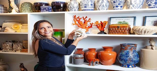 Decoração à beira-mar: Bianca Coelho comemora 10 anos de carreira.