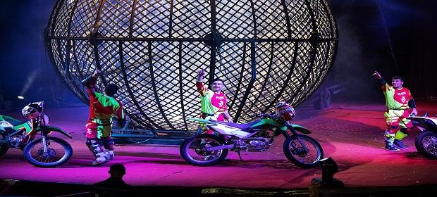 Le Cirque traz espetáculo cheio de adrenalina a Salvador.