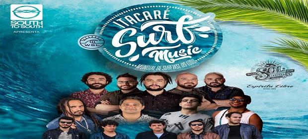 Definidas as atrações do Itacaré Surf Music.