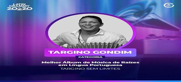 Targino Gondim concorre a Grammy Latino.