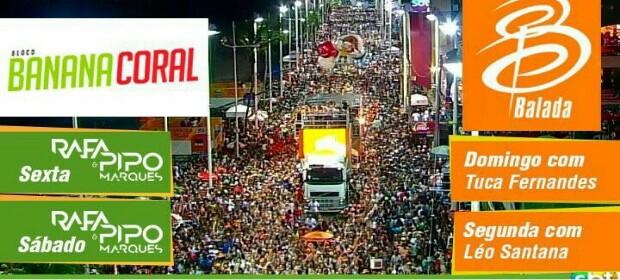 Aulões especiais de ritmo no Carnaval