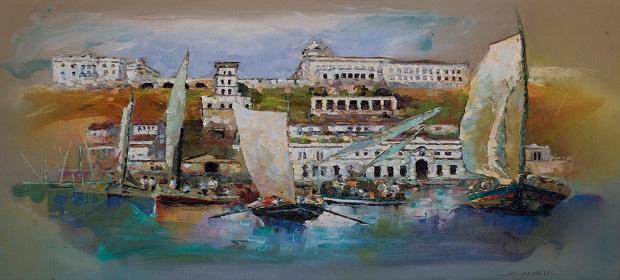 Exposição 'Um Novo Olhar' destaca a Bahia em arte abstrata.