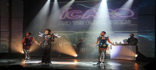 Ministério da Cidadania apresenta Ícaro And The Black Stars.