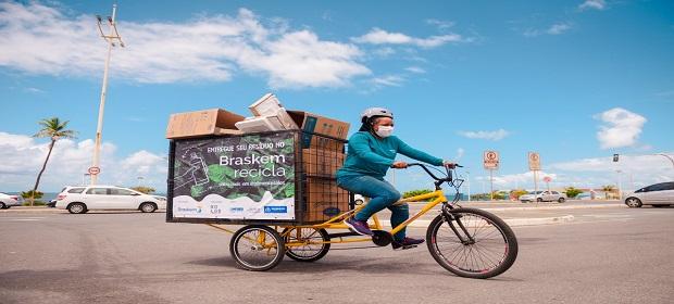 Drive Thru promete coletar 2 toneladas de resíduos pós-consumo.