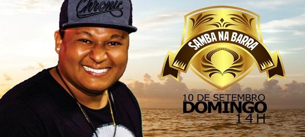 Restaurante Axé Dendê realiza o Samba na Barra neste domingo (10).