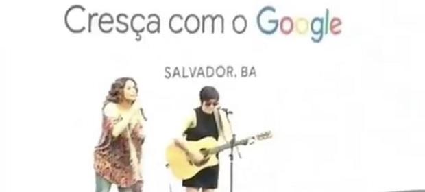 Thathi é convidada por Daniela Mercury em treinamento do Google.