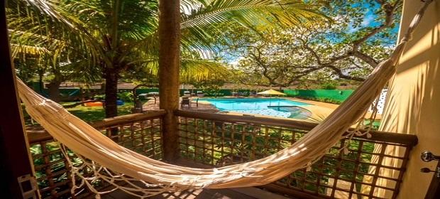 Pousada Villa Maeva é uma ótima opção para relaxar.