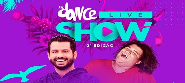 Fabio Duarte e Gominho apresentam segunda edição do FitDance Live Show