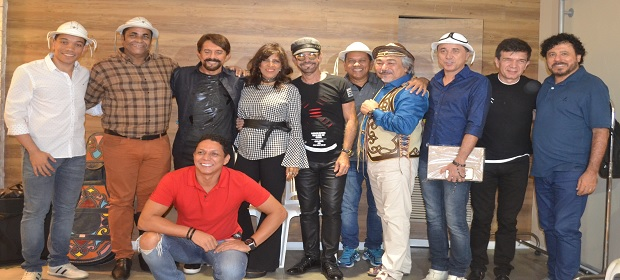 Forrozeiros do Nordeste participam do lançamento de projeto de forró.