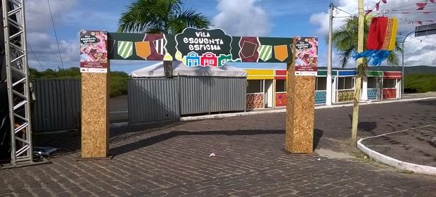 Projeto Vila Esquenta Espicha fortalece os festejos juninos na Bahia.