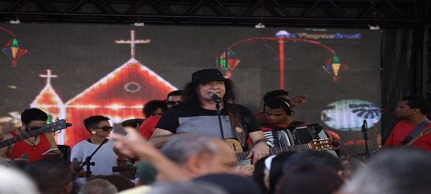 Zelito Miranda neste domingo no Forró no Parque.