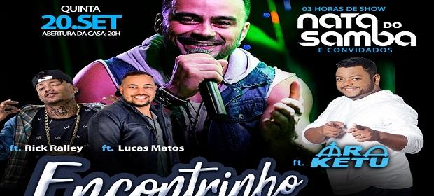 'Encontrinho': Nata do Samba, Araketu, Rick Ralley e Lucas Matos.