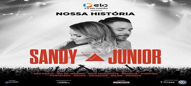 Sandy e Junior Lima anunciam Turnê 'Nossa História' em Salvador.