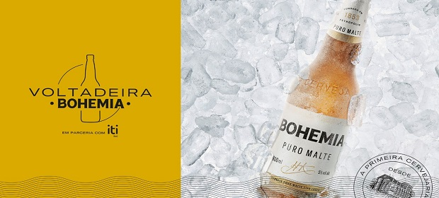 Bohemia lança 'Voltadeira': a cerveja da tão esperada volta ao boteco.
