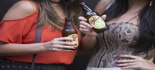 Biergarten faz uma homenagem às mulheres cervejeiras.