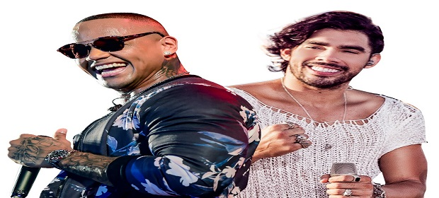 Léo Santana e Gabriel Diniz prometem super shows no Armazém Hall.
