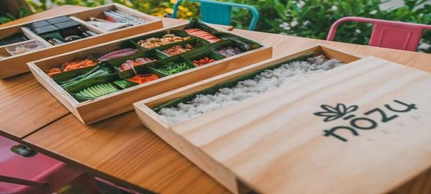 Delivery de comida japonesa Nozu lança o NOZU BOX.
