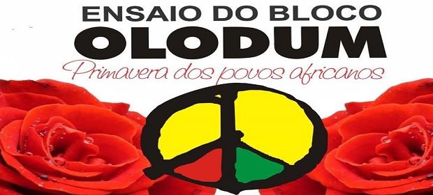 Ensaio do Bloco Olodum para o Carnaval 2019 agitará o Pelourinho.