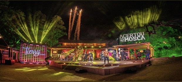 Tierry lança 'Acertou na Mosca' com participação de Gusttavo Lima.