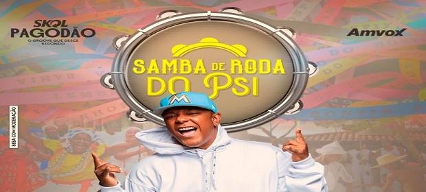 Psirico apresenta sua terceira live com a temática 'Samba de Roda'.