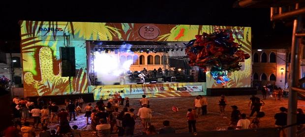 Palco do Festival de Lençóis vai ganhar projeções do VJ Gabiru.