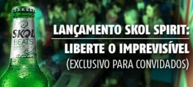 Lançamento da Skol Spirit em Salvador