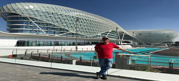 O empresário Diogo Cunha inicia parcerias com gestores de Dubai.