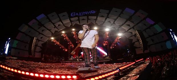 Arraiá do Galinho: Festival reuniu mais de 63 mil pessoas.