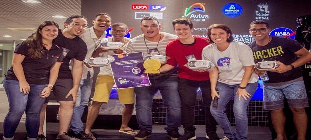 Salvador vence desafio internacional da NASA.