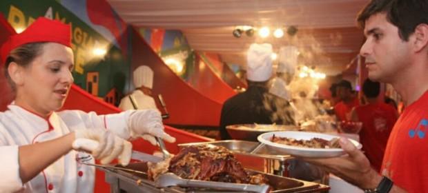 Camarote Brahma oferece diversidade gastronômic