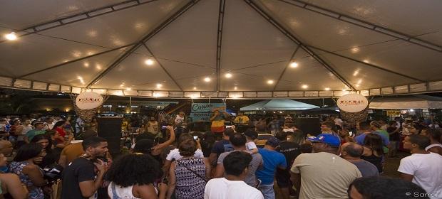 Feira Coreto Hype recebe Diamba e Amanda Santiago na Av. Centenário.