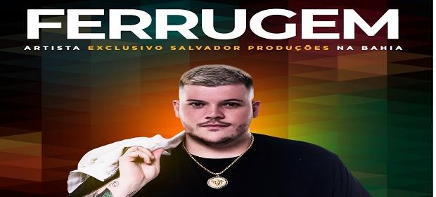 Ferrugem agora é artista exclusivo da Salvador Produções na Bahia.