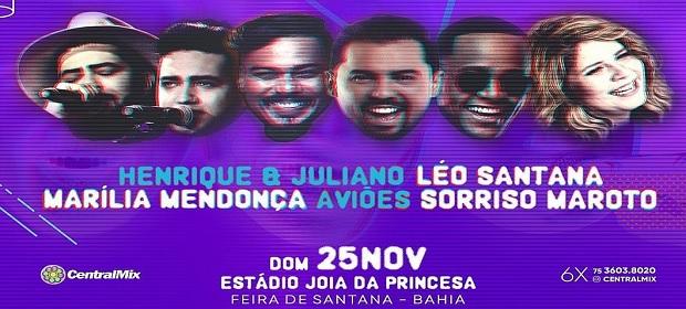 Léo Santana, Aviões, Henrique & Juliano, Marília Mendonça juntos.