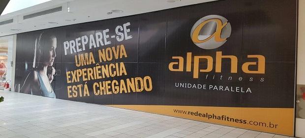 Rede Alpha Fitness inaugura hoje uma unidade no Sh