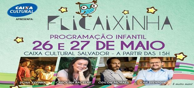FliCaixinha anima final de semana de pais e filhos em Salvador.