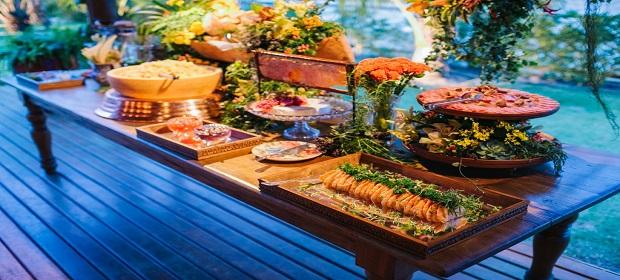 Conceito Wedding apresenta a gastronomia perfeita para casamentos.