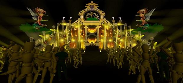 Palco nível Tomorrowland receberá Ivete Sangalo no San Island Weekend.