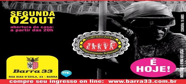 Cortejo Afro realiza temporada de Ensaios no Barra 33.