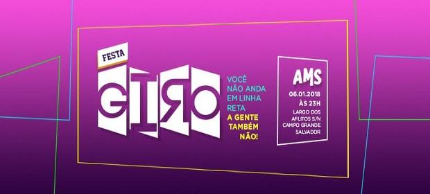 Amsterdam Salvador estreia Festa Giro neste fim de semana.