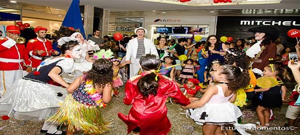 'Circuito da Alegria' anima as férias no Shopping Itaigara.