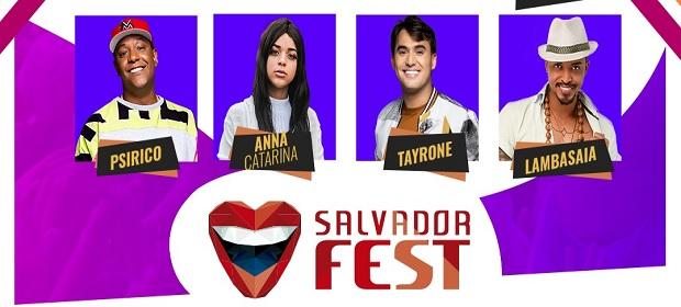 Salvador Fest divulga grade oficial dos palcos.