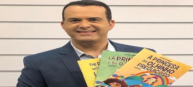 Jornalista e escritor Ricardo Ishmael expõe na Expo Mammis Kids.
