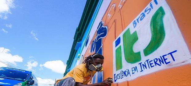 ITS Brasil oferece internet gratuita em centro de cultura.