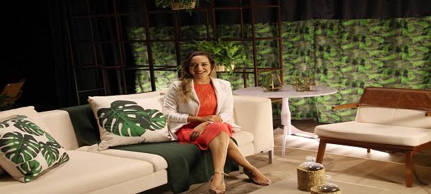Thaís Fonseca promove coquetel na Mostra Morar Mais.