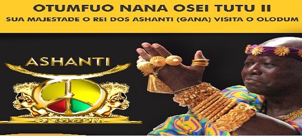 Olodum recebe Rei de Gana.