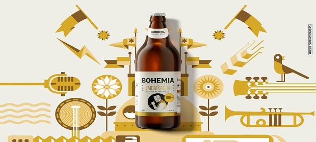 Cervejaria Bohemia lança rótulo especial: Bohemia do Embaixador.