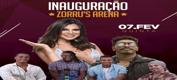 Zorru's Arena será inaugurada em Vilas do Atlântico nesta quinta (7).