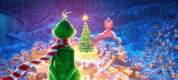 Rabugento, 'O Grinch' está ansioso para o Natal.